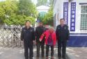 邓州:张楼派出所民警热心救助一名迷路老人