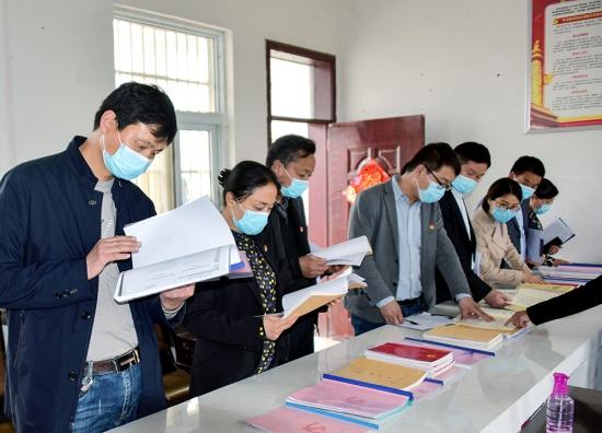 """河南驻马店:正阳县永兴镇第一季度""""党建观摩""""促发展"""