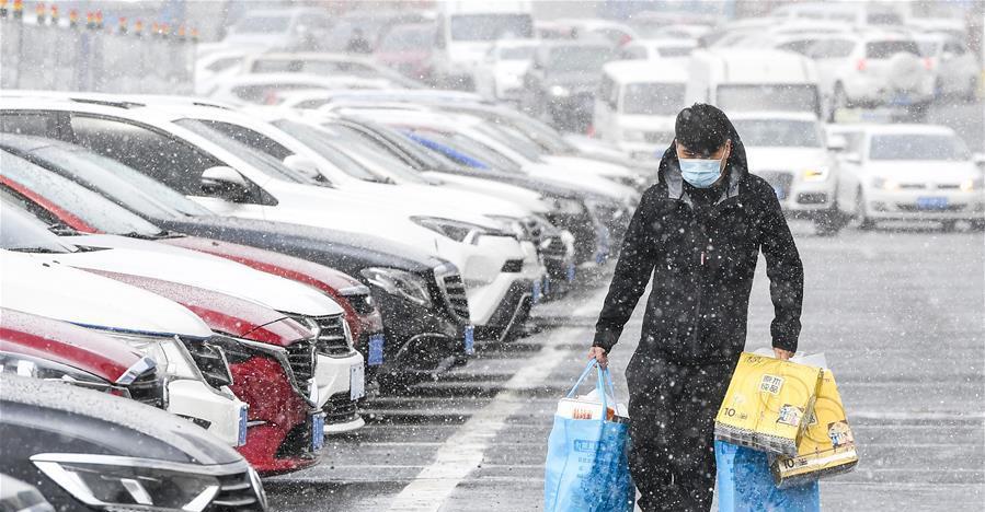 吉林省多地迎春雪