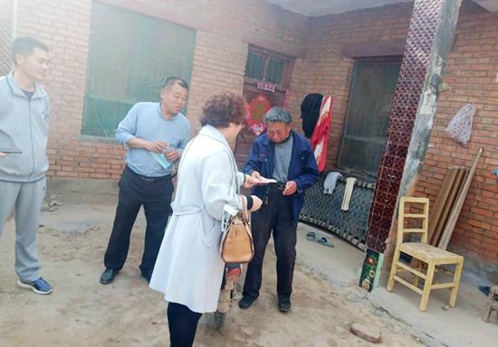 开封市工商联执委第三组赴通许县开展扶贫慰问活动