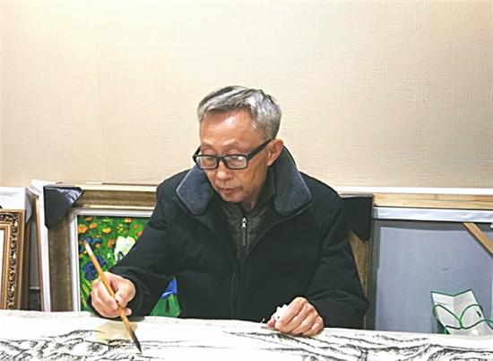 老骥伏枥 师古不泥一一画家马守福山水品鉴