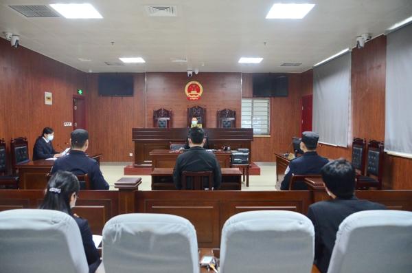 新野法院:法检两长同庭履职 公开审理宣判首起涉疫案