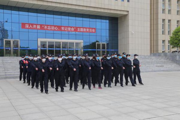 社旗县公安局举办2020年全警实战大练兵开班仪式