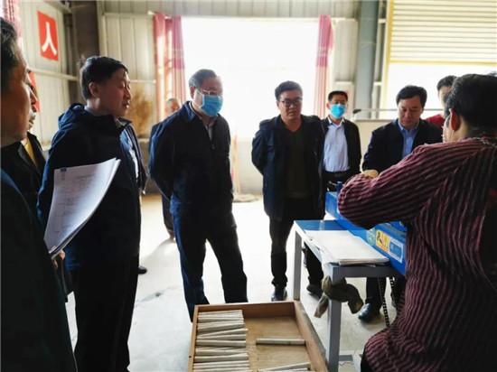 商丘市常务副市长吴祖明莅临君盟医疗集团民权向洋农业有限公司视察工作