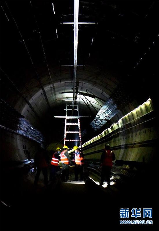 郑州地铁4号线加紧建设