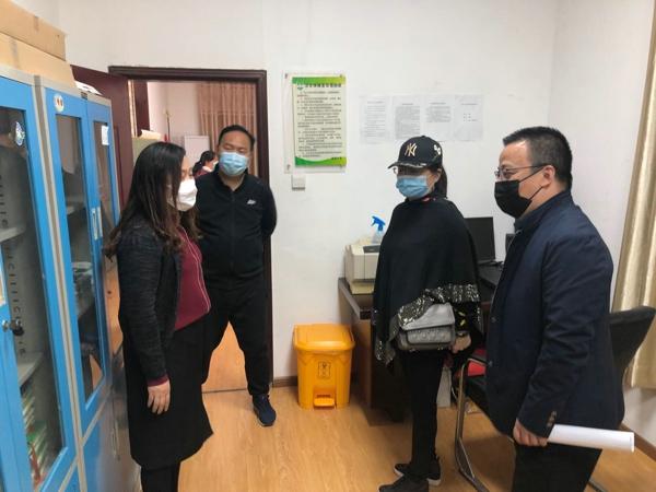 郑州市管城回族区南关小学迎接校园环境卫生综合整治专项检查