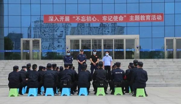 社旗县公安局举行全警实战大练兵第二期开班仪式