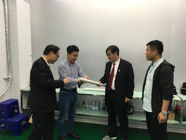 卧龙区法院:走访民营企业 助力优化营商环境