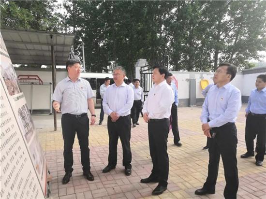 濮阳市委统战部长黄旭东到范县调研统战工作
