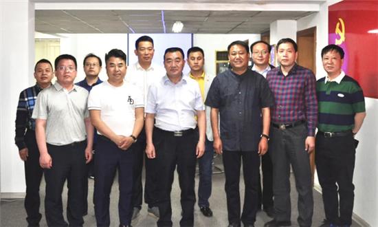 郑州市市委常委、统战部部长杨福平莅临徐州商会调研指导工作