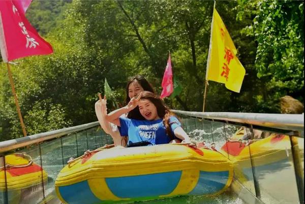 """栾川县叫河镇有处""""秘境""""——俊秀清凉谷"""