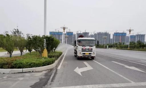 驿城区城市管理局全力做好城市环境卫生治理工作
