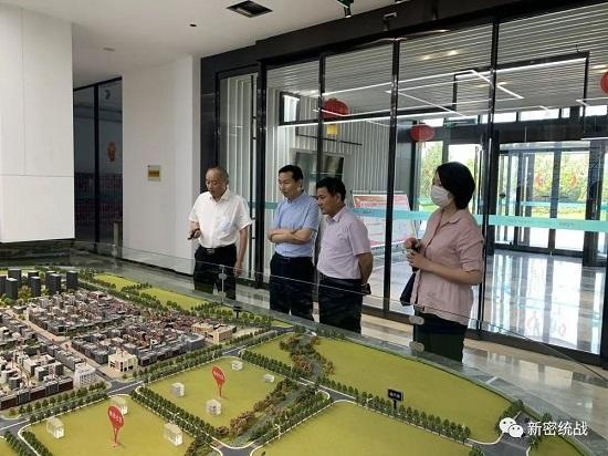 郑州市委统战部新阶层处到新密调研指导新阶层人士统战工作