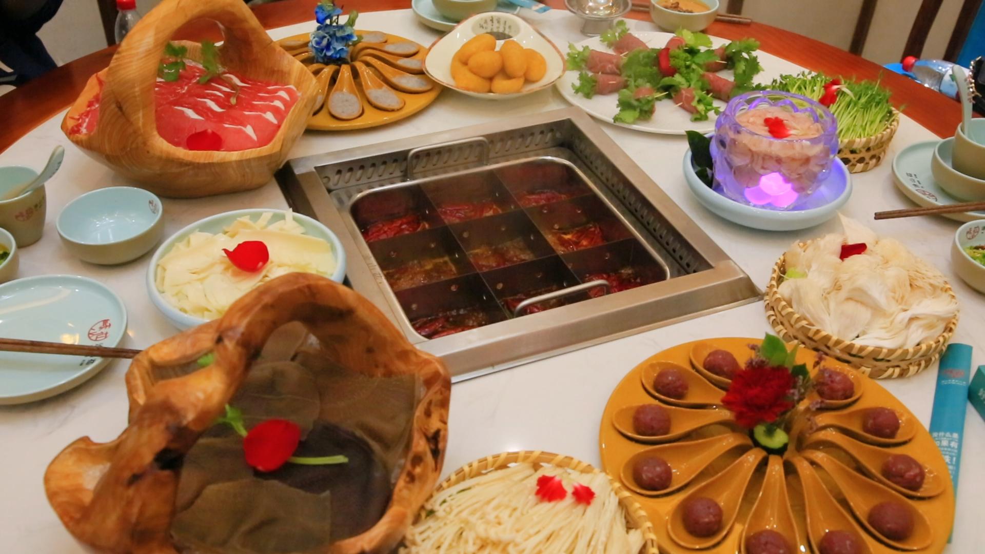 【郑州故事】涂山苮重庆火锅优质食材,还原天然美味