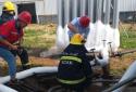"""企业非法安装LNG设备,河南省太康县城市管理局、消防联合拆除""""不定时炸弹"""""""