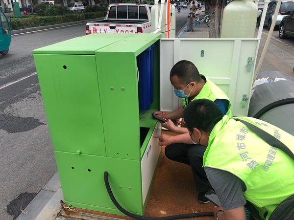 漯河首批35套雾森系统调试完成 精细化管理提能增效惠民生