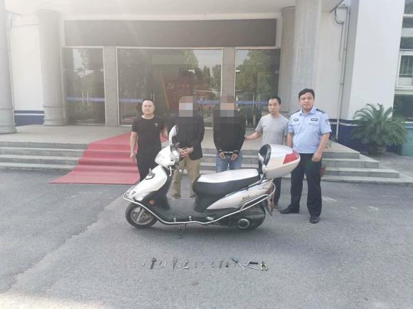 """邓州穰东:两男子因盗窃刚出狱  不忘""""老本行""""再落法网"""