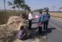 邓州市交通运输局执法所 多举措制止公路打场晒粮行为