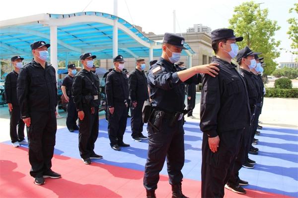 新野县公安局2020年全警大练兵活动启动