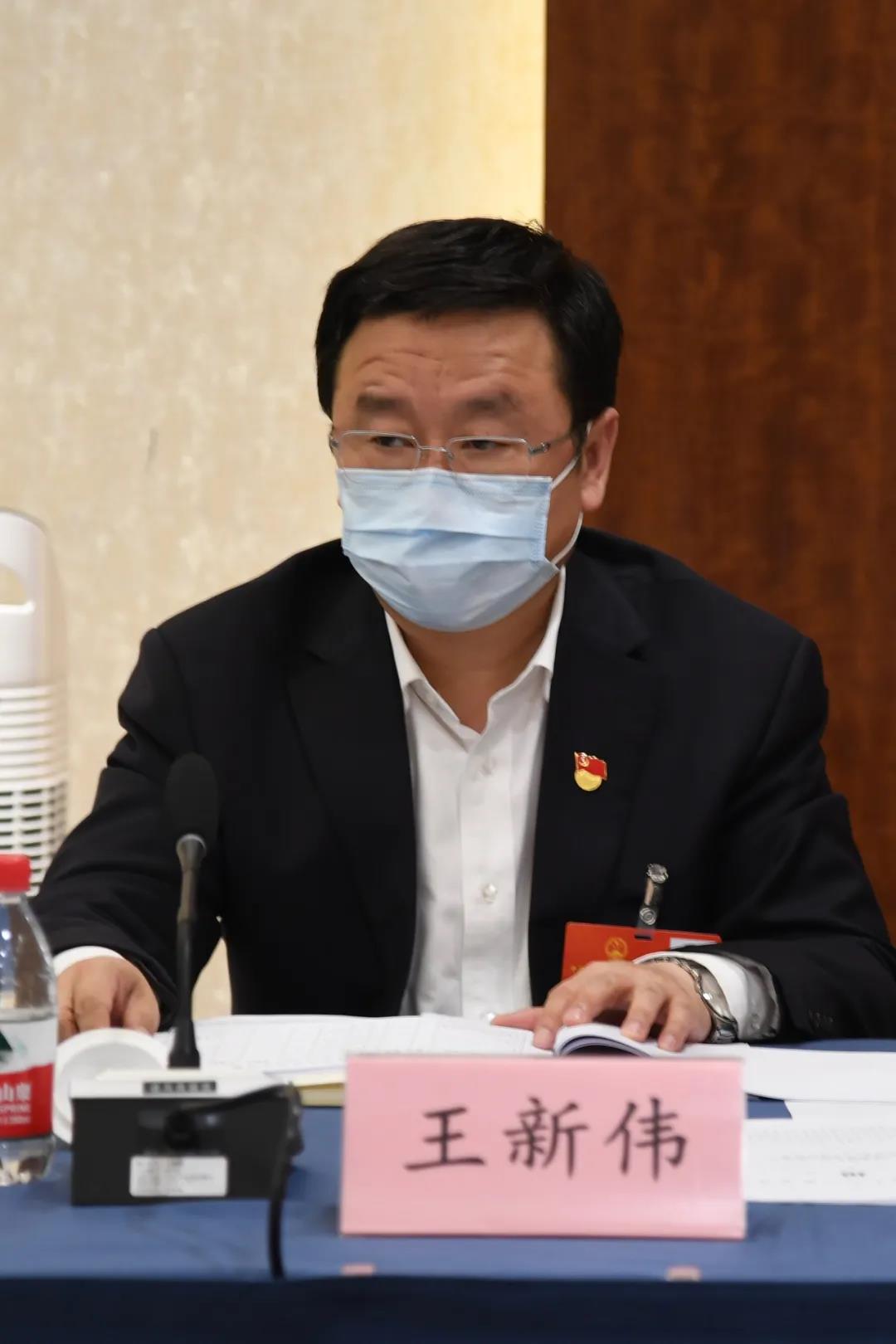 全国人大代表王新伟:让习近平总书记的殷殷嘱托在郑州落地生根