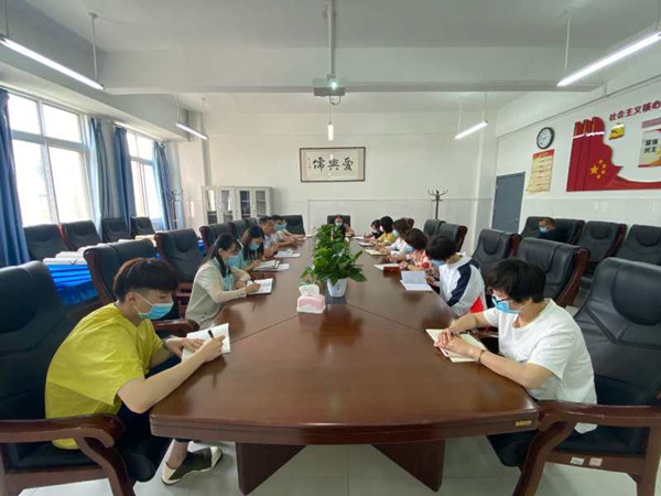 凝心聚力再出发——郑州市五龙口小学工会圆满完成换届选举工作