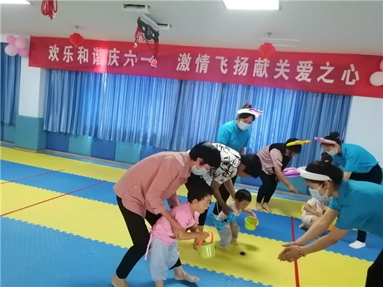 """汝南县残疾儿童:欢声笑语庆""""六一"""""""