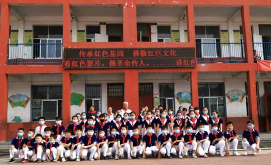 汝南县老促会开展红色文化进校园调研活动