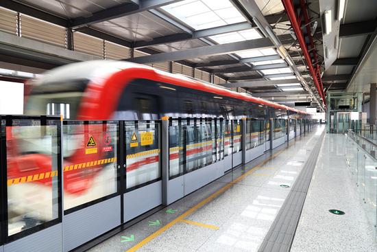 地铁3号线(一期)年底通车 沿线楼盘有哪些?