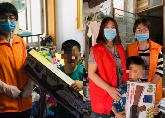 """郑州市南阳路街道办事处开展""""心有阳光,相伴成长""""关爱困境儿童服务活动"""