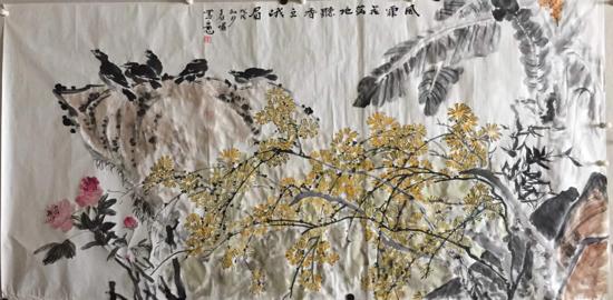 诗情画意韵春色——访女画家马春嵋