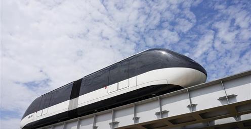 """重庆""""云巴""""示范线正式亮相 预计2020年9月全线通车"""