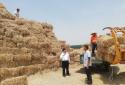 汝南县王岗镇:四个举措确保小麦秸秆堆放场防火安全