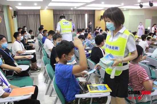 南水北调新郑管理处安全生产月活动启动暨防溺亡宣传第一站圆满成功