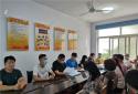 郑州市新同乐社区举行安全应急小分队成立暨授旗仪式