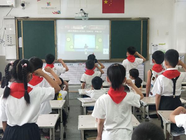 """你好,少代会"""" ——记郑州高新区外国语小学""""迎接少代会,争做好队员""""主题系列活动"""