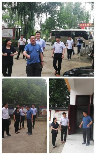唐河县:著名三农专家卢水生教授到桐河乡指导三变改革工作