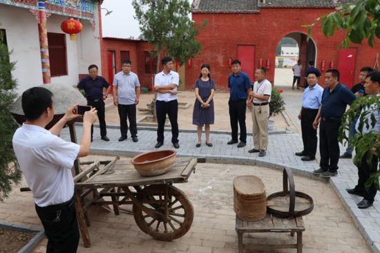 河南省委宣传部高峰到太康调研农村精神文明建设工作:让文明乡风树起来