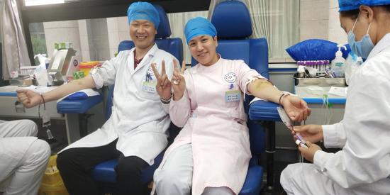纪监人镜头:安全血液 拯救生命