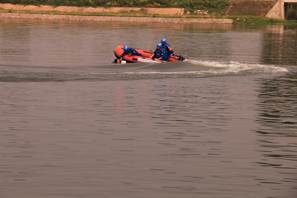 邓州市水利局开展防溺水急救演练