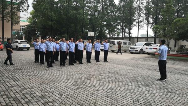 学研结合强素质 小班练兵促提升——新野县公安局全警大练兵点对点送教基层所队