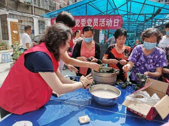 看看郑州亨利社区的粽子馅都包的啥料吧——政治生日、小区整改、征求意见齐了