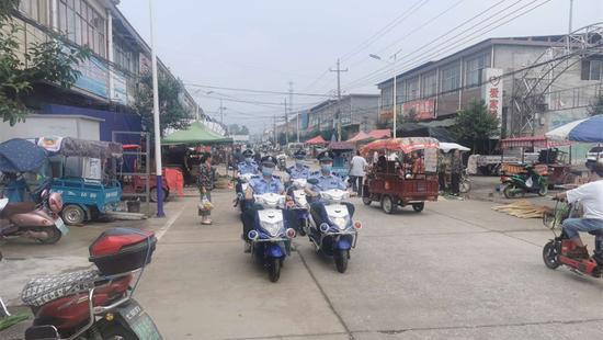 西平县焦庄派出所全力做好社会巡逻防控工作