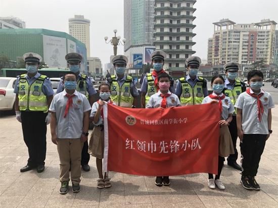 郑州市管城区南学街小学开展寻找身边榜样主题实践活动