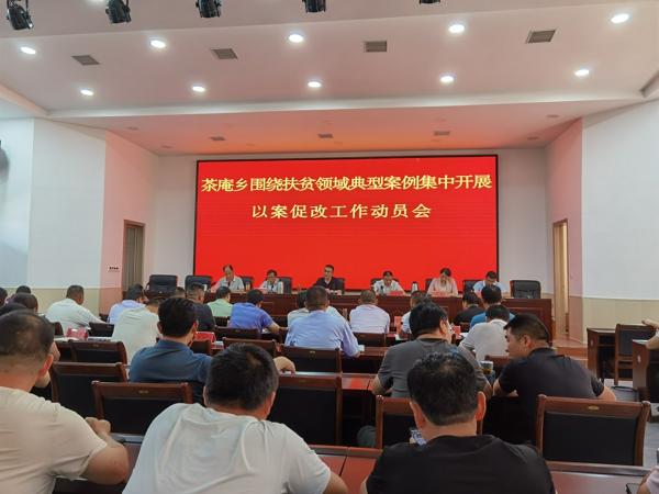 宛城区茶庵乡:召开扶贫领域以案促改警示教育动员大会