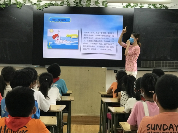 远离危险  平安成长——郑州市中原区建设路第三小学开展防溺水安全教育