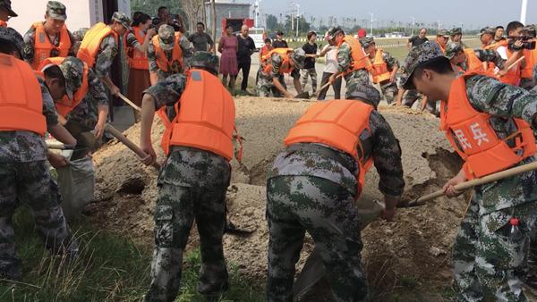邓州市举行防汛抢险应急救援综合演练