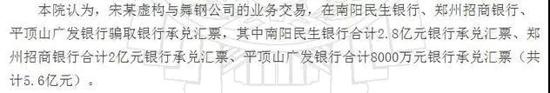 """惊天骗局!一个人骗了南阳民生银行、郑州招商银行、平顶山广发银行5.6亿,原来有""""内鬼""""相助"""