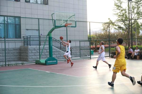 """迎党的生日 展法官风采——内乡法院举行""""迎七一""""干警篮球赛"""