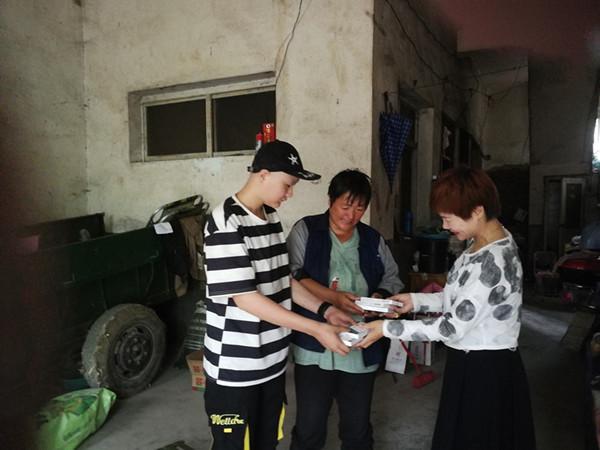 京邓同发力  爱心救助患病学生