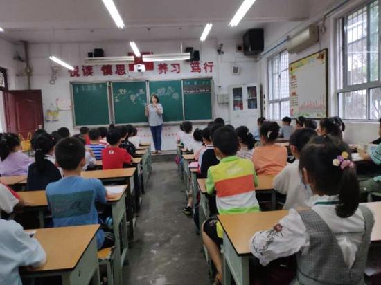 驻马店实验小学组织开展新时代好少年评比活动